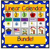 Linear Calendar Bundle