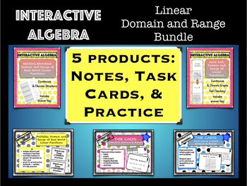 Linear Domain and Range Bundle