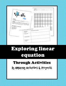 Linear Equation Activity