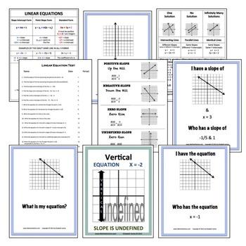 Linear Equation  Bundle