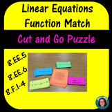 Linear Equation Function Match