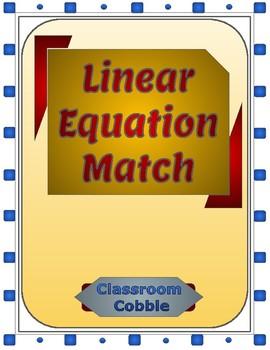 Linear Equation Match