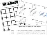 Linear Equation Math Bingo - Customizable, Reusable, Differentiated!