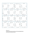 Linear Equation Puzzle