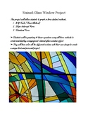 Linear Equation Stained Glass Window Project