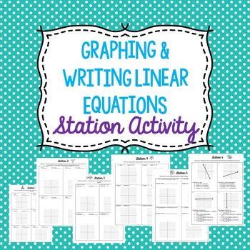 Linear Equation Stations Activity
