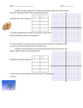 Linear Equation Stories