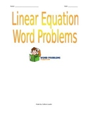 Linear Equation Word Problems