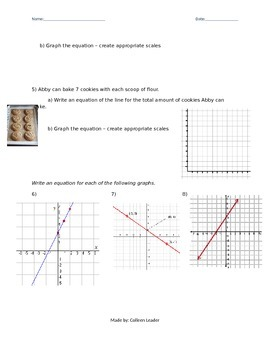 Linear Equation Word Problems HW