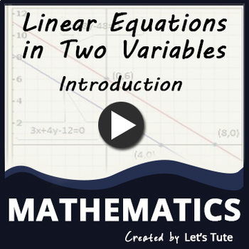 Linear Equation for Beginners