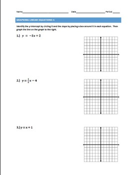 Linear Equations 1