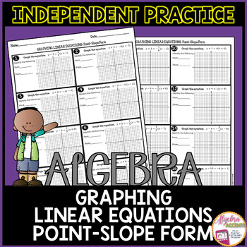Graphing Linear Equations from Point-Slope Form