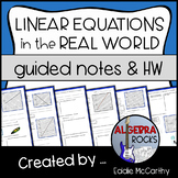 Linear Equations: Applications and Word Problems (Linear Functions)
