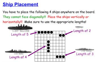 Linear Equations Battleship