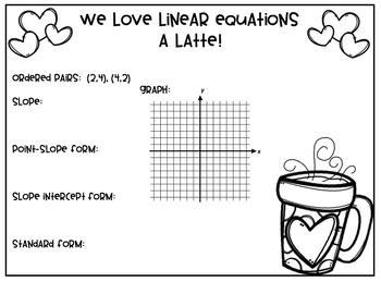 Linear Equations Bulletin Board