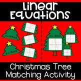Linear Equations - Christmas Tree Matching