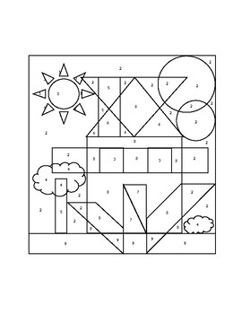 Linear Equations Coloring Page