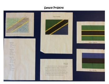 Linear Equations Flag Project By Laura Becker Tpt
