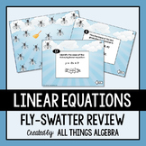 Linear Equations Fly-Swatter Review Game