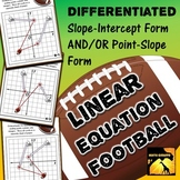 Linear Equations Football Game