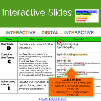 Linear Equations Google Interactive