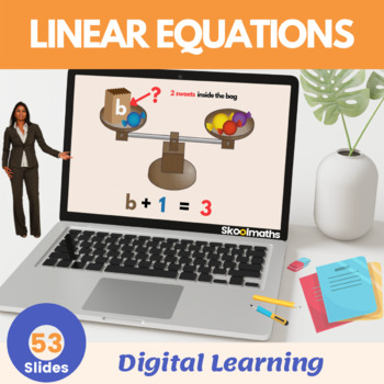 Linear Equations- Grade 6, (UK Year 7, key stage 3)