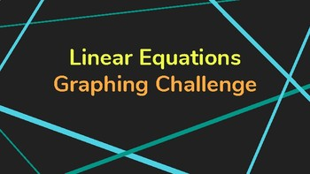 Linear Equations Graphing Challenge