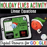 Linear Equations - Holiday Digital Activity