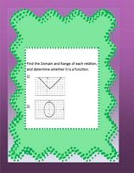 Linear Equations & Inequalities Math Centers