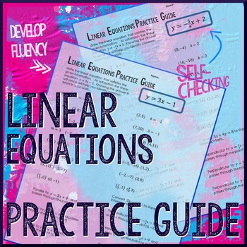 Linear Equations Practice Guide
