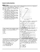 Linear Equations Regents Review (Notes & Practice Questions)