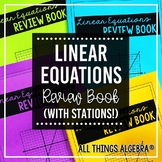 Linear Equations Review Book