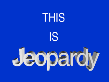 Linear Equations Review - Jeopardy 8.EE.5 and 8.EE.6