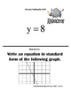 Linear Equations Scavenger Hunt