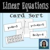 Linear Equations Sort
