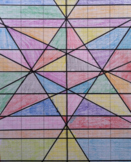 Linear Equations Stain Glass