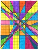 Linear Equations Stained Glass Project
