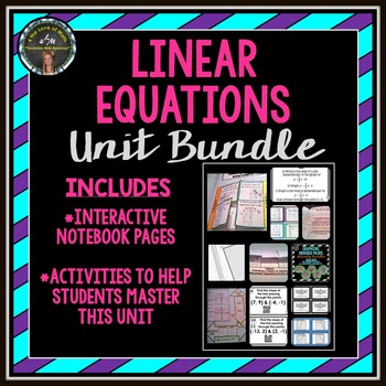 Linear Equations Unit Bundle