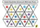 Linear Equations Algebra Vocabulary Triangle Matching Puzzle - Great for ELA