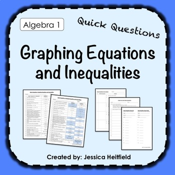 Graphing Linear Equations and Inequalities Activity FREE: Fix Common Mistakes!