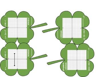Linear Equations and Slope Shamrocks