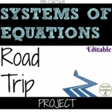 Linear Equations and Systems of Equations Road Trip Project EDITABLE (UPDATED)