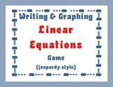 Linear Equations  jeopardy style game