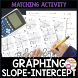 Graphing Linear Equations in Slope-Intercept Form Matching Activity