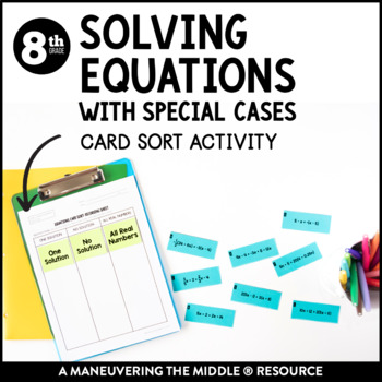 Solving Equations with Special Cases