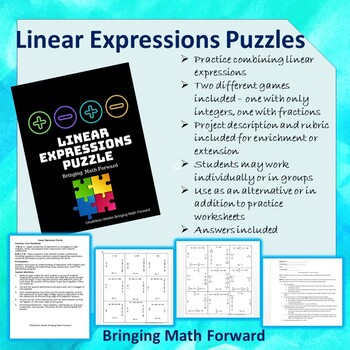 Linear Expressions Puzzle