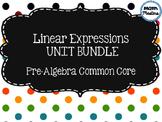 Linear Expressions Unit Bundle