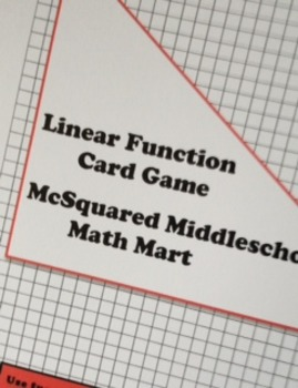 Linear Function Cards