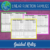 Linear Functions - Guided Notes