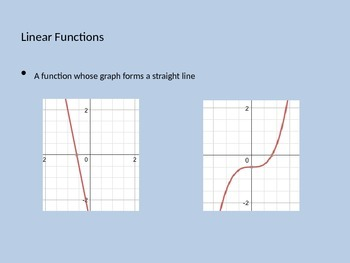 Linear Function Power Point